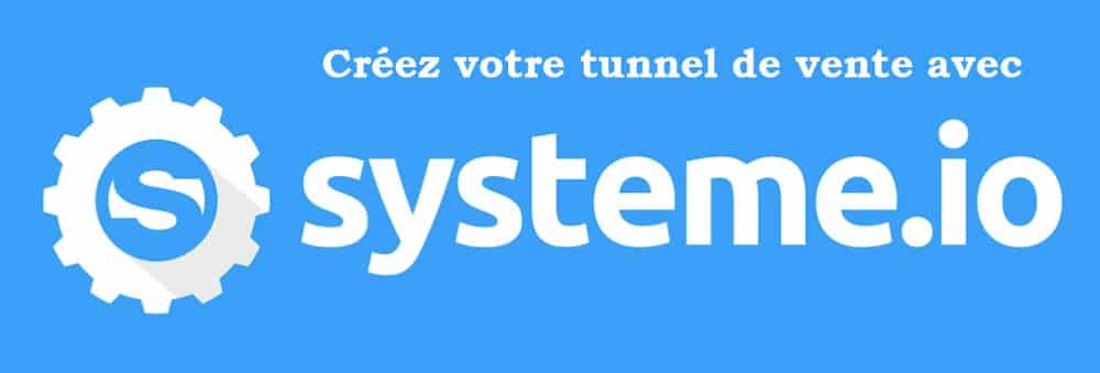 créer un tunnel de vente systeme io