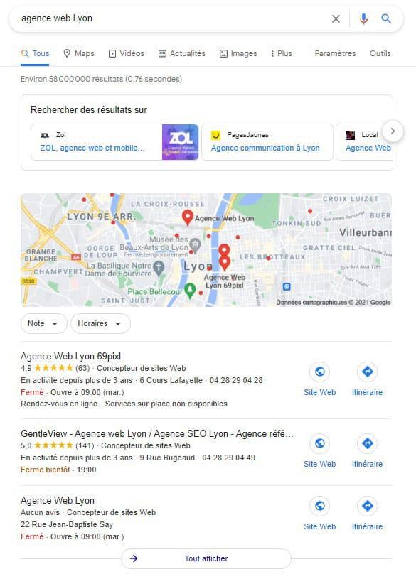 Créer Un Site Web à Lyon
