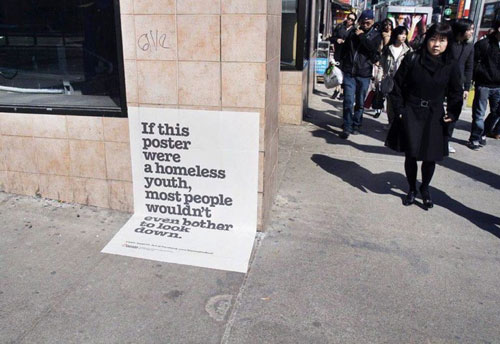 Campagne Marketing Guerilla Raising The Roof