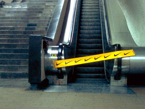 Idée De Guérilla Marketing Pour Nike