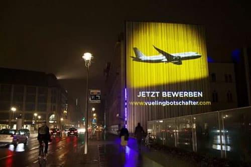 Marketing Guerilla Compagnie Aerienne Vueling