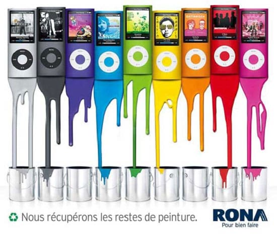 Marketing Guerilla Peintures Rona